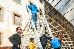 IMG_9432-5500-Andres-Flajszer-CODA-LAPSUS (CODA_UPC) Tags: festival stage structure erection elastic apse classicarchitecture deployable pliable gridshell gfrp bendingactive rapiderection