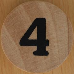 8 DIGITS number 4 (Leo Reynolds) Tags: xleol30x 4 four squaredcircle number xsquarex onedigit numberset sqset123 grouponedigit canon eos 40d xx2016xx