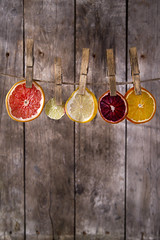 The colors of the dried citrus fruit (fotografiche) Tags: pink food orange color green nature water yellow closeup fruit vegan juicy lemon natural juice background dry fresh mature slice tropical grapefruit mandarin citrus lime diet section isolated nutrition vitamin