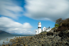 Cloch lighthouse (Alec-Gibson) Tags: longexposure sky water scotland gourock clochlighthouse leefilter bigstopper