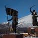 Monumento em Ust-Nera