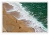 (AniaPhottos) Tags: vagues plage nazare arabesques darktable