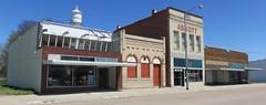 Abbott Storefront Block (Sargent, Nebraska) (courthouselover) Tags: nebraska ne sargent sandhills greatplains custercounty downtowns