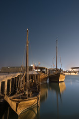 Dhows ( in explore) (aliffc3) Tags: boats nightshot dhows doha qatar lowlightphotography tamron2470f28 nikond750