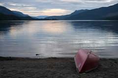 Wells Gray | Beached (Bhlubarber) Tags: park family summer camp lake nature forest river outdoors waterfall bc tent hammock wilderness provincialpark provincial wellsgray niddrie explorebc
