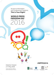World Press Freedom Day 2016 poster (US Department of State) Tags: press journalism reporters journalist freepress reporting may3 worldpressfreedomday