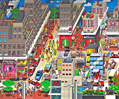 Mural, Causeway Bay, Hong Kong (Snuffy) Tags: hongkong mural causewaybay autofocus
