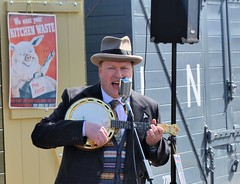 George Formby at Winchcombe (davids pix) Tags: station george war weekend railway winchcombe gloucester warwickshire formby 2016 whenimcleaningwindows 23042016