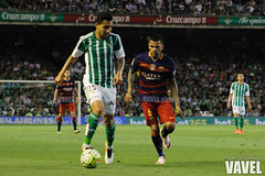Betis - Barcelona 093 (VAVEL Espaa (www.vavel.com)) Tags: fotos bara rbb fcb petros betis 2016 fotogaleria vavel futbolclubbarcelona primeradivision realbetisbalompie ligabbva danialves betisvavel barcelonavavel fotosvavel juanignaciolechuga