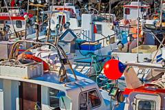 Boats in harbor (Geinis) Tags: canon boats harbor boat iceland arnarstapi snfellsnes canon70d