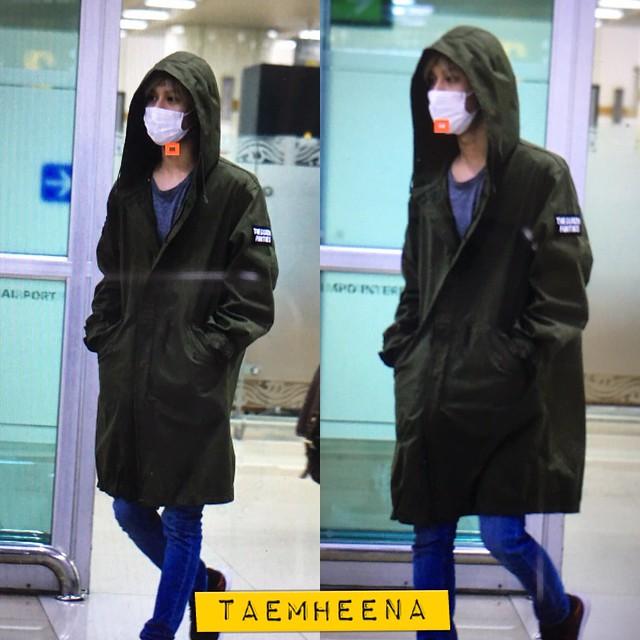 160427 Taemin @ Aeropuerto Gimpo {Llegada a Corea} 26732132645_6c68e6fee7_z