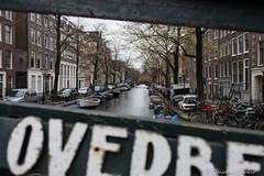 A Dutch frame. (christian.grelard) Tags: city travel bridge tourism netherlands dutch amsterdam canon eos town frame pont paysbas cadre canaux 700d canonfrance
