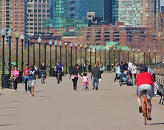 Saturday afternoon Liberty State Park Jersey City (K Lyden Photos) Tags: people jerseycity outdoor boardwalk libertystatepark northjersey