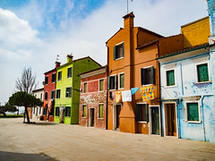 Burano Italy (jim2302) Tags: old city sea italy color architecture holidays sunny olympus canals ii burano omd em5 em5markii