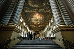 steps and pillars (stocks photography.) Tags: london greenwich thepaintedhall michaelmarsh