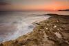 Hacia el sol (jbaleriola) Tags: sunset sea españa atardecer mar spain murcia costas calblanque