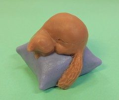 Cat on Pillow $3.00 (Clelian Heights) Tags: animals cat sleepingcat soaps unscented decorativesoaps cleliansoaps