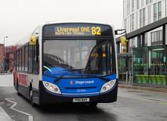Stagecoach Merseyside 27703 - PO11 BAV (North West Transport Photos) Tags: bus e300 stagecoach enviro adl 27703 alexanderdennis liverpoolone enviro300 liverpoolonebusstation po11bav stagecoachmerseysideandsouthlancashire