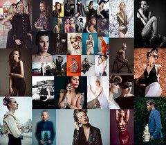 Happy New Year! (mrksaari) Tags: portrait fashion composite grid photo nikon panel d750 tych d700