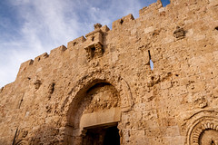 Zion Gate (davecurry8) Tags: israel gate jerusalem zion bullethole oldcity
