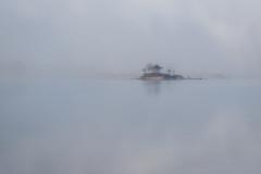 Misty Morning (Yuga Kurita) Tags: morning mist lake japan misty fog landscape foggy dreamy kawaguchi kawaguchiko