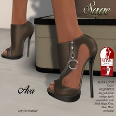 Ave Heels- Coffee (By Sage Pexie) Tags: sage secondlife slfashion secondlifefashion