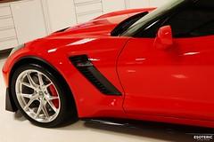 c7_z06_z07_esoteric_314 (Esoteric Auto Detail) Tags: corvette esoteric z06 detailing hre c7 torchred akrapovic p101 suntek z07 gyeon paintprotectionfilm paintcorrection bestlookingcorvette z06images