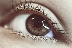 Mirad (Mnica Iranzo (Dualitynow)) Tags: light detalle color detail macro reflection eye luz face look ojo eyelashes skin ojos reflejo mirada rostro pestaas piel