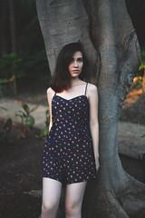 Daniela (Susana Norzagaray) Tags: plants color girl dress pale shorthair
