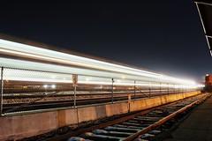 Train Fly By (skylerfraga96) Tags: longexposure railroad station night train utah cool union picture front dope runner ogden fraga skyler