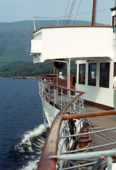 On board 'Maid of the Loch' appr. Rowardennan. Jul'80. (David Christie 14) Tags: lochlomond rowardennan maidoftheloch