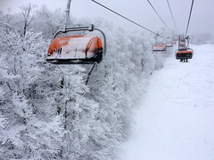 Okemo Chairlift (Tanya Kogan) Tags: snow vermont chairlift okemo