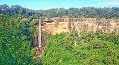 Cliffs and falls (darren.willman) Tags: forest waterfall rocky australia cliffs newsouthwales fitzroyfalls