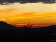 colori dell'alba a gennaio (memo52foto) Tags: italien italy sunrise dawn europa europe italia alba eu aurora lombardia italie madrugada ue lombardy aube lombardie morgenstunde lombardei tagesanbruch morgenrote