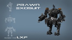 District 9 Prawn exosuit (LXF File) (Rancorbait) Tags: lego district 9 mecha mech moc exosuit
