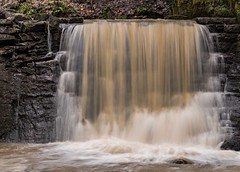 The Waterfall (StephenPSinclair) Tags: park water river scotland waterfall nikon fife fast glen flowing dunfermline pittencrief