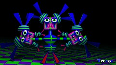 Trippy Trevor (3 Headed Monster) (trippytrevor4ever) Tags: abstract funny creepy creativecommons blender trippy psychedelic backround royaltyfree freetouse trippytrevor