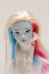 OOAK Monster High Abbey Bominable (sonya.kosilina) Tags: abbey monster high ooak bominable