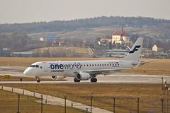 DH-LKN (Micha Stolarski) Tags: airport finnair poland polska krakw krk lotnisko balice dhlkn