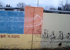 Be Kaug (Georgie_grrl) Tags: friends photography mural publictransit social canoes transportation outing 501 paddlers fromthestreetcar shootingonthego torontophotowalks canonpowershotelph330hs mynewdarkpinkside ttcchallenge thequeenline bekaug topw501