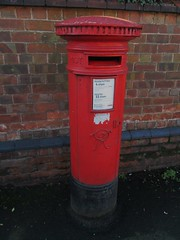 Newport TF10 211 Station Road VRPB Shropshire (Bridgemarker Tim) Tags: shropshire staffordshire services letterboxes postboxes glocester tf10