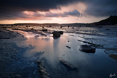 Long Reef Thunderstorm (FPL_2015) Tags: ocean sunset seascape water landscape rocks sydney australia thunderstorm lowtide lightning longreef northernbeaches