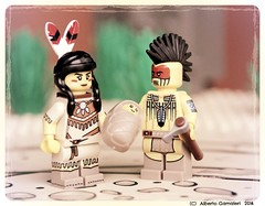 Family portrait (alby83) Tags: family apache lego western farwest indiani