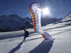 Gleitschirmfliegen-Winter-Aletsch-Arena-6-flyingcenter (aletscharena) Tags: schweiz wallis ch aletschgletscher gleitschirm unescowelterbe fiesch gleitschirmfliegen aletscharena aletscharenach