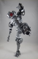 Boot to the head (donuts_ftw) Tags: silver lego bionicle mecha droid assassin moc constraction ccbs