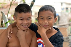 pals (the foreign photographer - ) Tags: friends two boys portraits thailand nikon buddies bangkok pals bang bua khlong bangkhen d3200 jan302016nikon