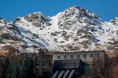 Snowy Sloy (Davescunningplan) Tags: station scotland industrial power lochlomond sloy