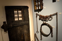 Encarcerate (dhcomet) Tags: door heritage history museum justice buckinghamshire prison crime jail aylesbury punishment gaol restraint retribution shackle
