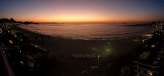 Praia de Copacabana ao amanhecer - Copacabana Beach at dawn (adelaidephotos) Tags: brazil panorama praia beach rio brasil riodejaneiro sunrise dawn copacabana sugarloaf podeacar amanhecer fortedecopacabana nascerdosol praiadecopacabana copacabanabeach fortcopacabana mariaadelaidesilva