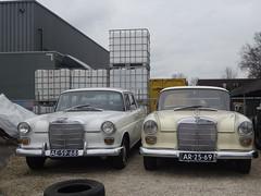 Mercedes Benz 230 1967 / 1999 / 200 1966 / 2011 Apeldoorn (willemalink) Tags: mercedes benz 1999 1966 200 1967 230 apeldoorn 2011
